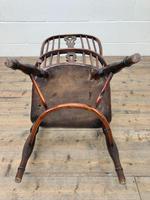 Antique Windsor Armchair in Elm & Ash (11 of 12)