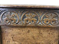 Antique 18th Century Joined Oak Coffer (10 of 15)