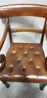William IV Mahogany Desk Chair (5 of 9)