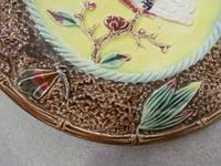 An English Majolica Plate (3 of 6)