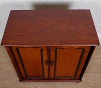 Filing Cabinet 19th Century Mahogany Birdseye Maple (7 of 10)