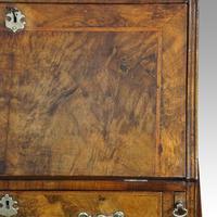 19th Century Walnut Bureau Bookcase (10 of 19)