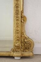 Victorian Gilt Arch Top Overmantle Mirror (8 of 10)