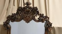 Large Carved Oak Mirror (2 of 5)
