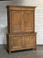 Wonderful French Empire Period Bleached Oak Linen Press (2 of 32)