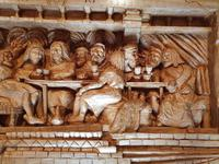 'Last Supper' High Relief Carving in Lime Wood, by Scottish Sculptor Alan Lees (8 of 9)