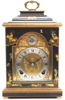 Good Caddy Top Mantel Clock – Chinoiserie Striking 8-day Mantle Clock by Elliot London (7 of 13)