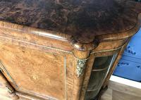 Victorian Burr Walnut Inlaid Credenza With Ormolu Mounts (20 of 27)
