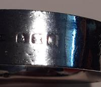 Silver Napkin Ring, Hallmarked Late 1800 / Early 1900s (4 of 4)