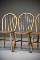 4 Beech & Elm Kitchen Chairs (9 of 12)