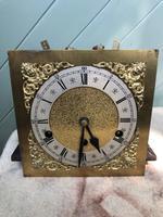 Antique Light Oak Grandmother Clock (12 of 12)