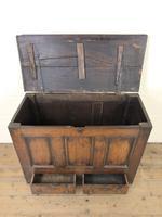 18th Century Welsh Oak Mule Chest (3 of 12)