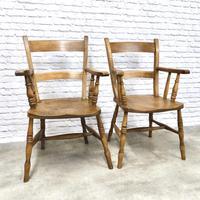 2 x Windsor Barback Armchairs (2 of 5)