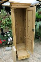 Gorgeous Old Stripped Pine Cupboard / Cabinet / Wardrobe - Hall / Linen / Larder (9 of 11)