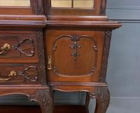 Carved Mahogany Display Cabinet by Warings (8 of 19)