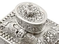 Sterling Silver Tea Caddy - George V 1925 (9 of 15)