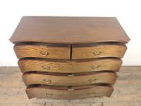 Edwardian Inlaid Mahogany Serpentine Chest of Drawers by Waring & Gillow (M-1489) (5 of 16)
