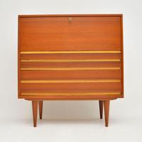 1960's Danish Teak Vintage Writing Bureau (3 of 12)