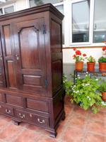 Country Oak Press Cupboard 1730 (4 of 10)