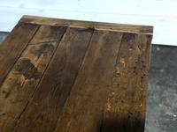 Very Early Oak Farmhouse Refectory Dining Table (12 of 31)