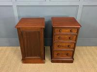 Pair of Victorian Mahogany Bedside Chests (8 of 16)