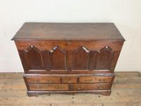 18th Century Welsh Oak Two Part Chest (2 of 13)