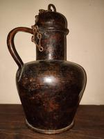 18th Century Spanish Arab Style Copper Jug (2 of 10)
