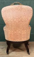 French Louis Philippe Rosewood Armchair (3 of 10)