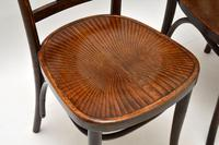 Set of 4 Antique Bentwood Cafe Dining Chairs (7 of 12)