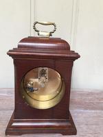 Small Mahogany 18th Century Style Bracket Clock (8 of 11)