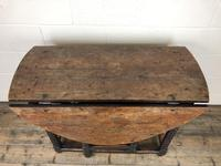 Early 18th Century Yew & Fruitwood Gateleg Table (7 of 12)