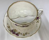 Victorian Moustache Cup & Saucer c.1892 (3 of 6)