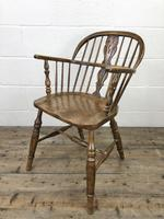 Pair of Antique Windsor Armchairs (6 of 9)
