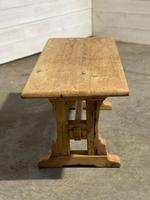 Great Rustic French Bleached Oak Coffee Table (12 of 25)