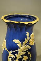 A Rare Late 19th Century Majolica Shaped Pottery Stick Stand (5 of 6)