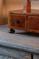 19th Century Mahogany Dressing Table Mirror with Three Drawers (13 of 21)