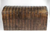 Large Early 17th Century Iron Bound Chest (3 of 22)