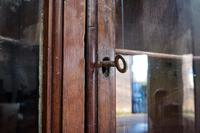18th Century Oak & Mahogany Corner Cabinet (9 of 9)