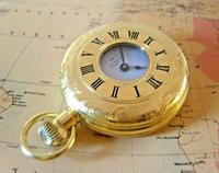 Vintage Swiss Limit Pocket Watch 1970s 17 Jewel 12ct Gold Plated FWO (4 of 11)