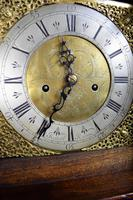 Small (77.5in) 8 Day Mahogany Grandfather Longcase Clock (4 of 7)