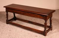 Small Louis XIII Walnut Bench 19th Century (2 of 7)