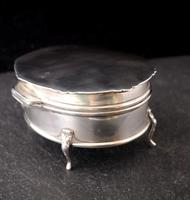 Antique Sterling Silver Jewellery Casket, Box (5 of 15)