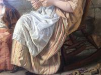 Original 19th Century Painting by W J Haynes (7 of 13)