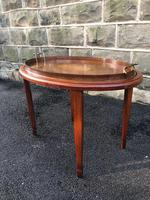 Edwardian Inlaid Mahogany Tray Top Coffee Table (7 of 7)