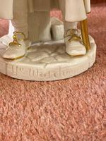 """Rare Royal Worcester Porcelain Figure by James Hadley, """"Ye Watchman"""" (shape 998) (4 of 5)"""