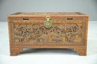 Chinese Carved Camphor Chest (2 of 8)