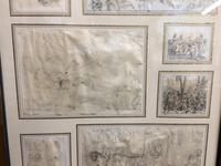 Decorative Collection of 18th Century Sketches (4 of 9)