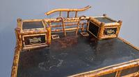 Victorian Lacquered Bamboo Desk (4 of 6)
