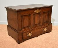 18th Century Welsh Oak Marriage Coffor Bach / Coffer (7 of 8)