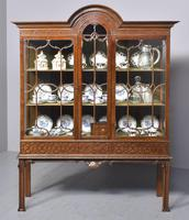 Antique Chinese Chippendale Mahogany Display Cabinet (9 of 13)